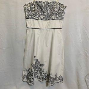 WhiteHouseBlackMarket stateless midi dress